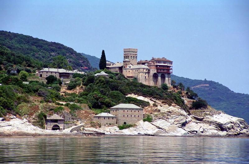 ... монастырь, Монастырь Святая Гора Афон: go-athos.com/Монастыри-Скиты-Келии-Святая...