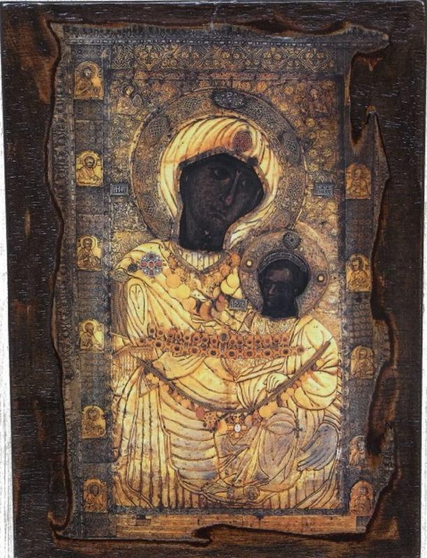 Чудотворная икона Богоматери Иверская, «Вратарница» - Иверон