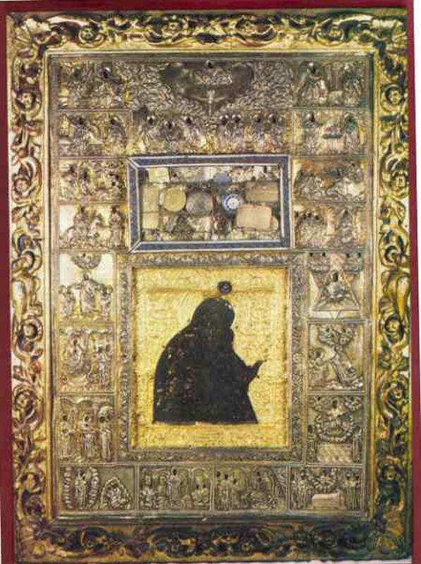 Чудотворная икона Пресвятой Богородицы «Акафистная» - Дионисиат
