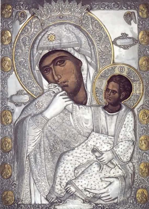 Где находится икона божья матерь всецарица