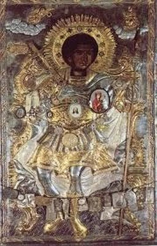 Чудотворная икона святого Георгия Победоносца - Ксенофонт