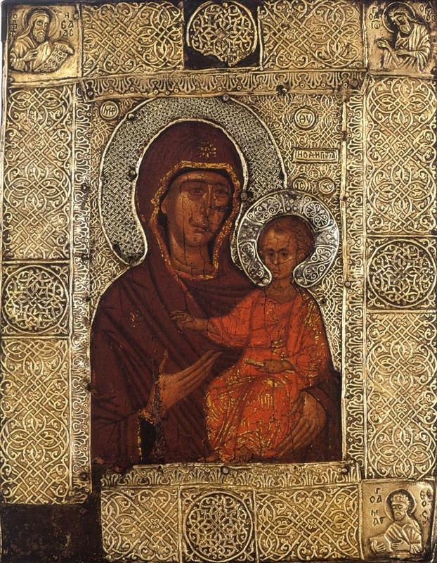 Чудотворная икона Божьей Матери «Елеоточивая» - Ватопед