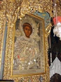 икона святого  великомученика Георгия Победоносца икона святого великомученика Георгия Победоносца, присланная сербским царём Стефаном Душаном.