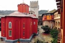 Главный соборный храм монастыря <p>Кафоликон монастыря - Главный соборный храм.</p>