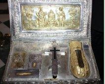 Святыни монастыря Симонопетра.