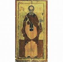 Преподобный Симон Мироточивый <strong>Преподобный Симон Мироточивый</strong><br />Икона переносная монастыря Симонопетра (17ый век).