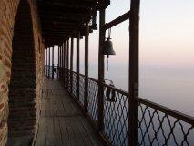 Вид из монастыря к морю
