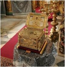 честная глава великомученика Пантелеймона Честная глава великомученика Пантелеймона