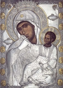 Отрада или Утешение Икона «Отрада или Утешение» очень почитаема на Руси, в храмах есть много списков.
