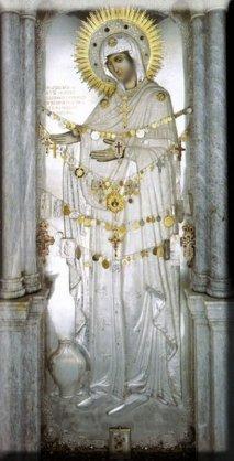 «Герондисса»  или «Старица» Чудотворная икона Божьей Матери «Герондисса» или «Старица».