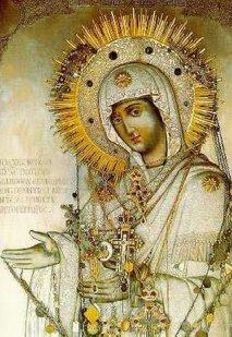 «Герондисса»  или «Старица» Чудотворная икона Божьей Матери «Герондисса» или «Старица»