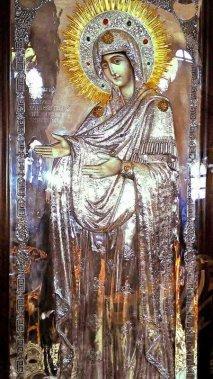 «Герондисса»  или «Старица» <div>Чудотворная икона Божьей Матери «Герондисса» или «Старица»</div> <div>.</div>