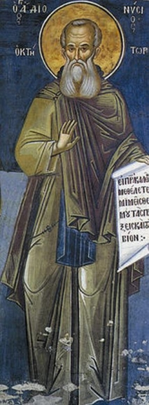 Дионисий Афонский <p>Преподобный Дионисий Афонский (греч. Άγιος Διονύσιος), основатель Афонского Монастыря «Дионисиат»</p>