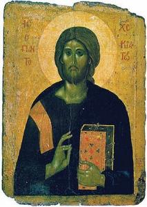 Христос Пантократор Икона, полученная из монастыря Пантократора, теперь находится в Эрмитаже в Санкт-Петербурге.